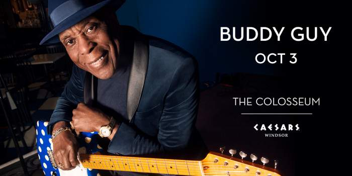 Buddy Guy Poster Caesars Windsor