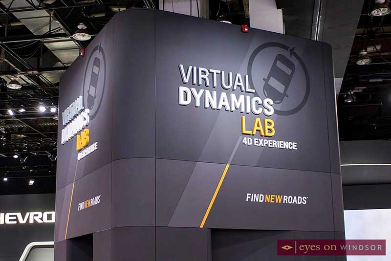 Chevrolet Virtual Dynamics Lab VR at 2018 NAIAS