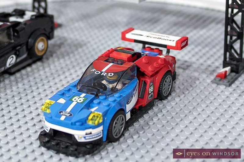 Ford LEGO car at the 2018 Detroit Auto Show