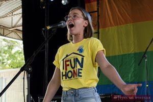 Erica Peladeau cast as Alison in Korda Artistic Productions presentation of Fun Home