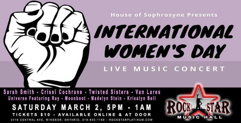 House of Sophrosyne International Women's Day Concert