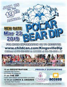 Annual Kingsville Polar Bear Dip Poster