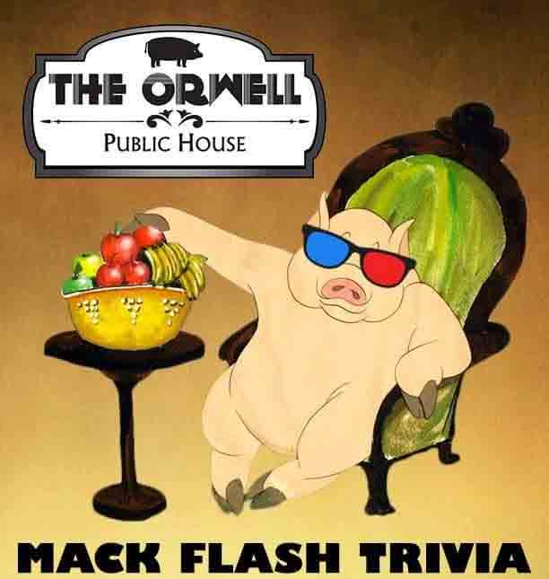 Mack Flash Entertainment at The Orwell Public House Poster