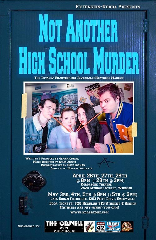 Not Another High School Murder Presented by Korda Artistic Productions Poster