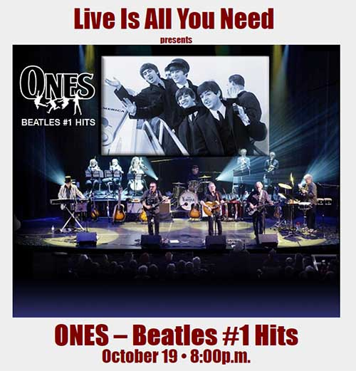 Ones - The Number One Hits Of The Beatles Live in Windsor Poster