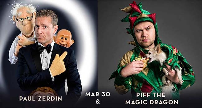 Paul Zerdin & Piff the Magic Dragon From America's Got Talent Live at Caesars Windsor