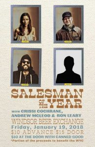 Salesman of The Year & Friends Poster