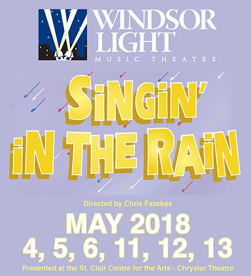 Singin' In The Rain by Windsor Music Light Theatre Poster