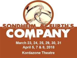 Sondheim & Furth's Company Presented by Korda Artistic Productions Poster