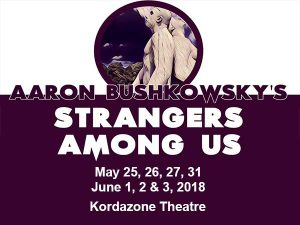 Strangers Among Us Presented by Korda Artistic Productions Poster