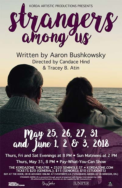 Strangers Among Us at Kordazone Theatre Poster