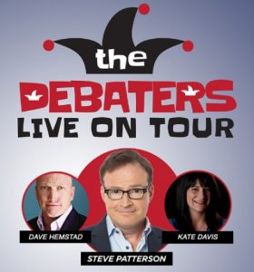 The Debaters Live On Tour Poster For Windsor