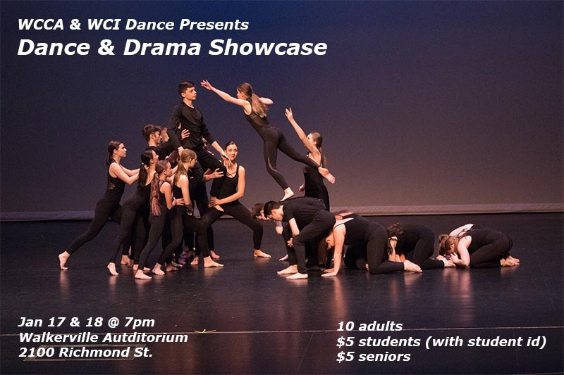 Walkerville Centre for the Creative Arts Dance Showcase