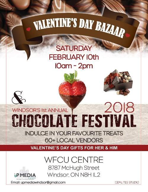 Windsor Chocolate Festival & Valentine's Day Bazaar