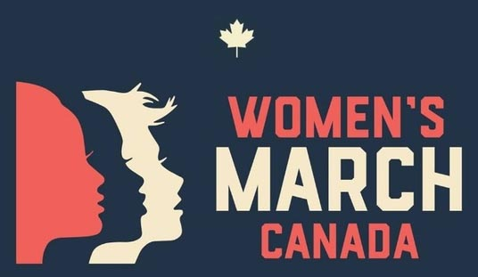 Women's March Canada Logo Windsor March