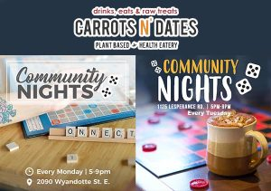 Community Nights at Carrots N' Dates in Walkerville & Tecumseh
