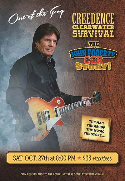 Creedence Clearwater Survival CCR Tribute John Fogerty Poster Windsor Show