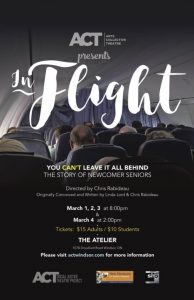 ACT Windsor Social Justice Theatre presents In Flight (Poster)