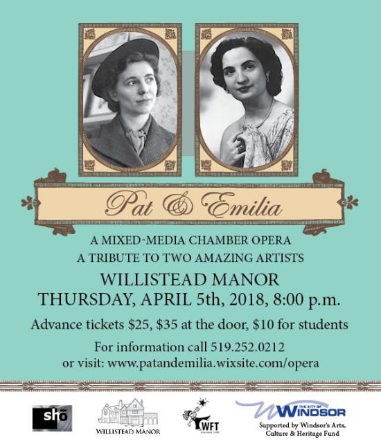 Pat & Emilia At The Manor Poster