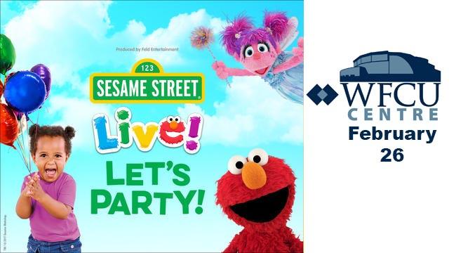 Sesame Street Live at the WFCU Centre in Windsor