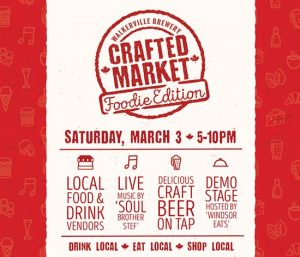 Walkerville Brewery Crafted Market Foodie Edition