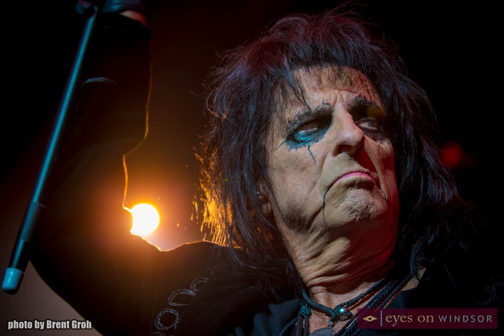 Alice Cooper Performs During Paranormal Tour Kickoff in Windsor, Ontario, at Caesars Windsor on March 1, 2018.