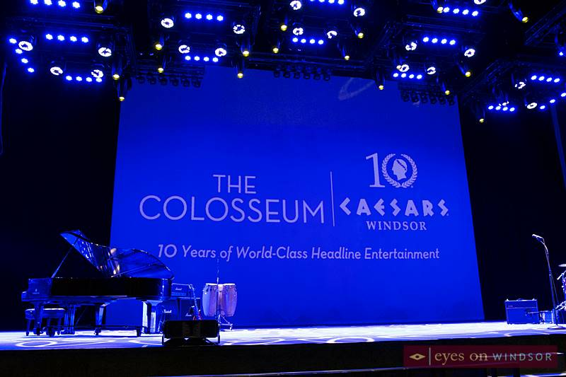 The Colosseum Stage at Caesars Windsor
