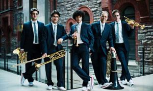 Canadian Brass, brass ensemble to perform live with the Windsor Symphony Orchestra as part of Toldo Pops Series.