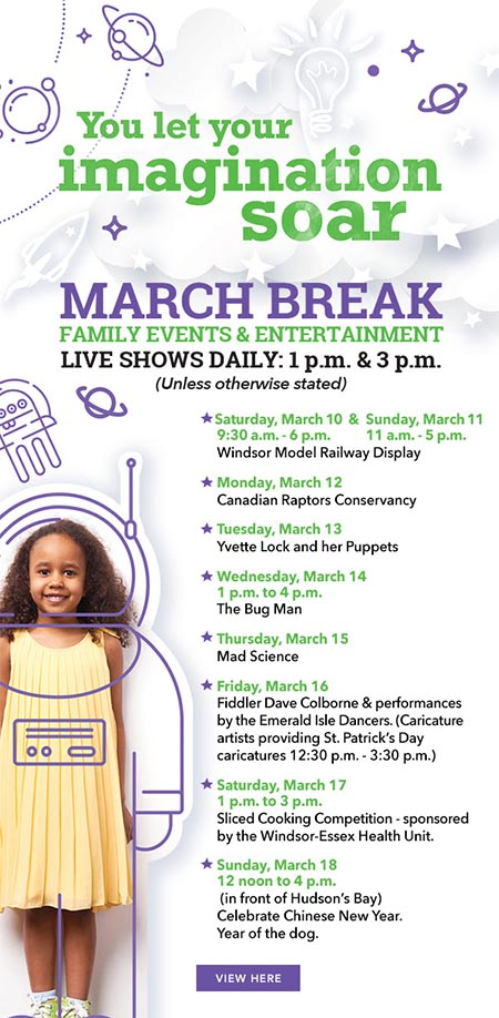 March Break At Devonshire Mall Poster