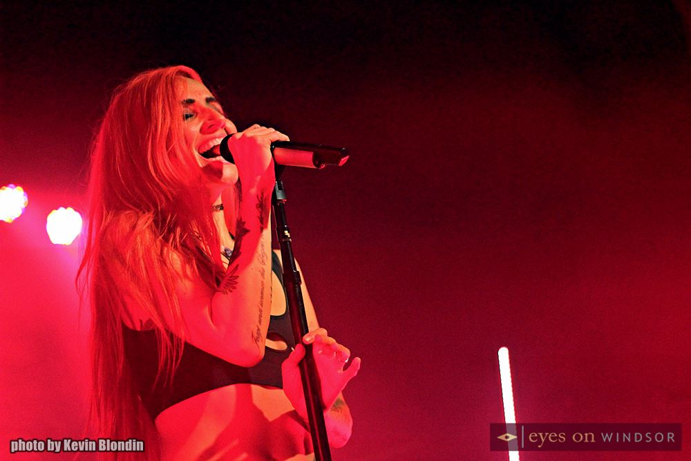 Lights performing at St. Andrews Hall