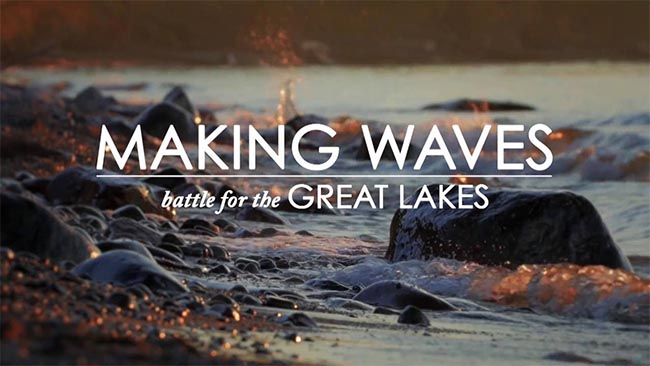 Making Waves: Battle For The Great Lakes Film Screening Windsor