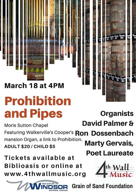 Prohibition and Pipes Poster