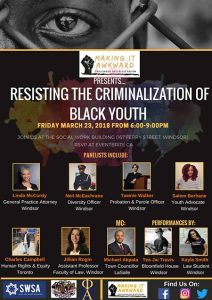 Making it Awkward:Resisting the Criminalization of Black Youth Poster