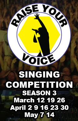 Raise Your Voice Singing Competition Season 3 Competition Rounds Sidebar Banner