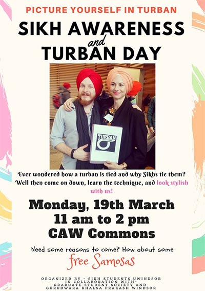 Sikh Awareness & Turban Day Poster