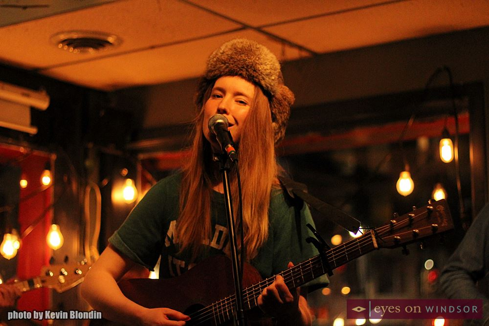 Skye Wallace performing live at Phog Lounge