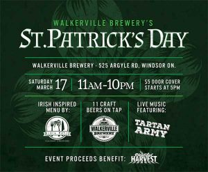 St. Patrick's Day at Walkerville Brewery Poster