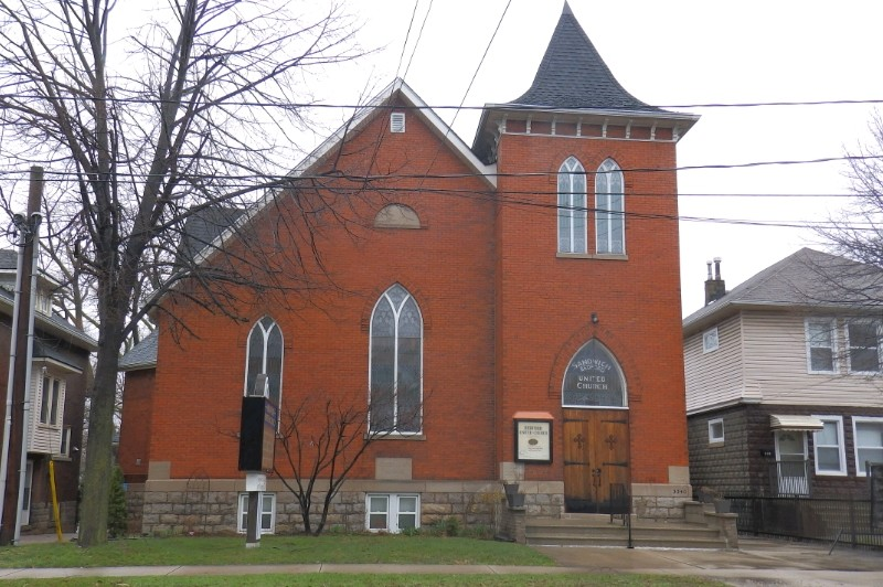 Bedford United Church in Windsor's Old Sandwich Town