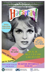 Hairspray The Musical by Walkerville Centre for the Creative Arts Poster