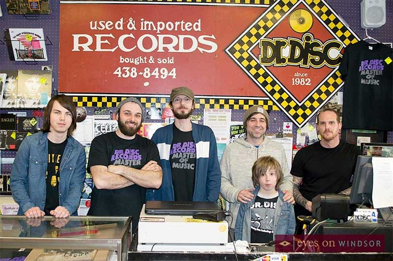 Dr. Disc Records Staff During Record Store Day