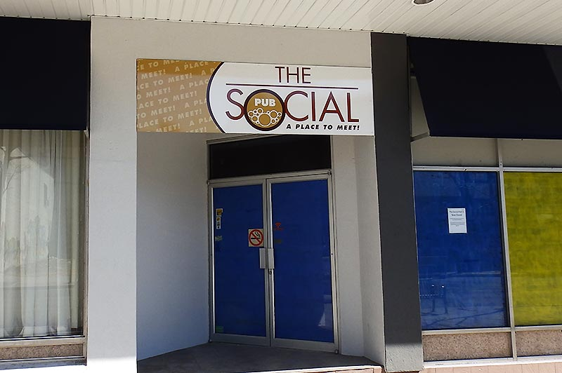 The Social Pub in Downtown Windsor (Closed Permanently)
