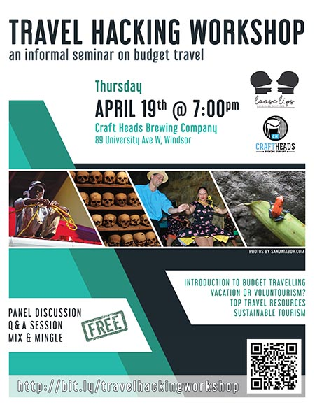 Travel Hacking Workshop Poster