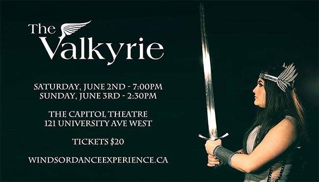 Windsor Dance Experience The Valkyries Poster
