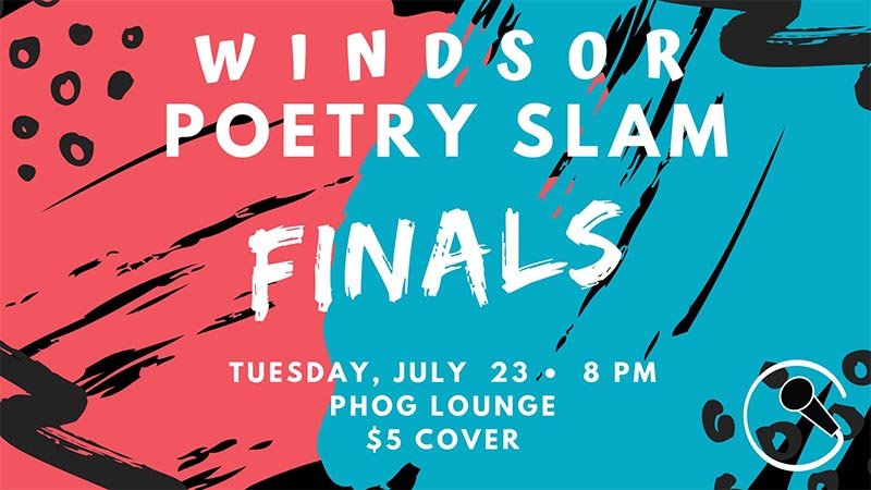 Windsor Poetry Slam Poster