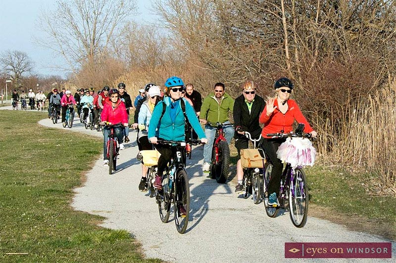 Tecumseh Windsor Slow Ride