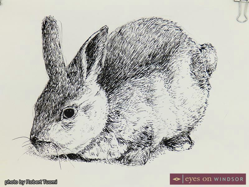 Student Milly's replication of a rabbit.
