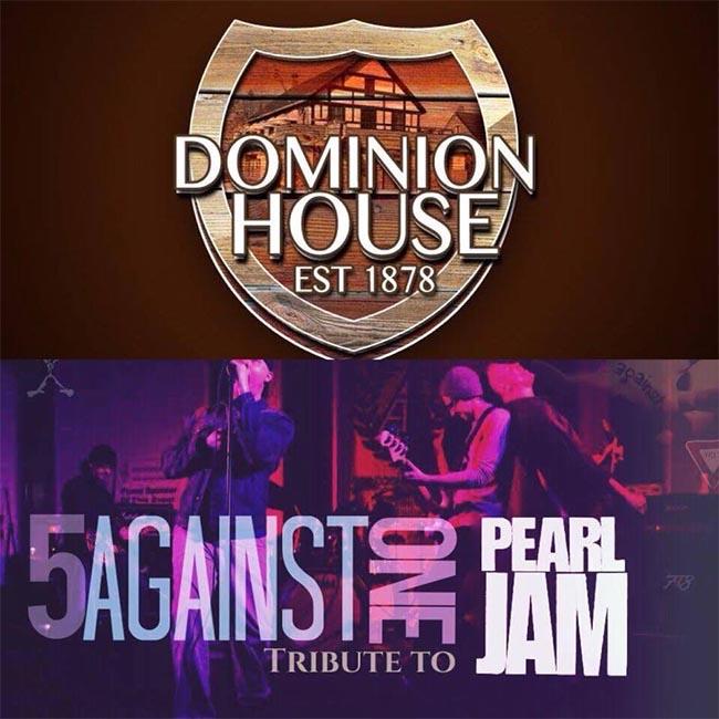 Dominion House Tavern Anniversary Celebration Poster
