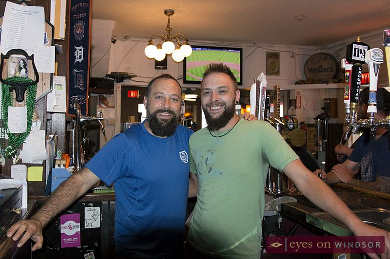 Robert Rosati (left), and Jordan Tough (right) are co-owners of The Dominion House Tavern (joining the partnership with Chris Mickle and Billie Jo Zacher).