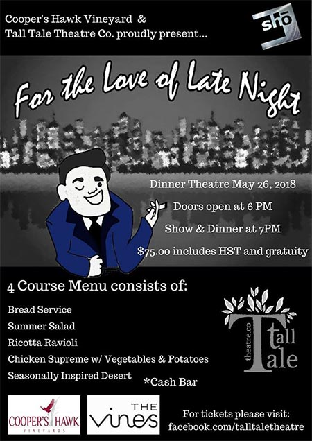 For The Love of Late Night by Tall Tale Productions (Poster)