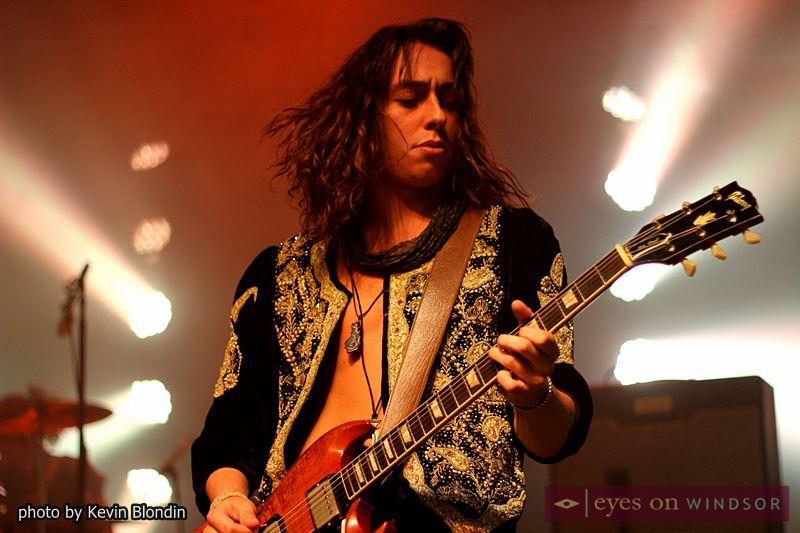 Greta Van Fleet guitarist Jake Kiszka